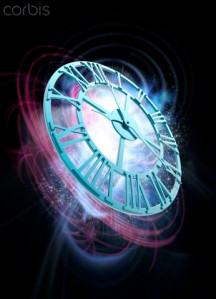 04 Nov 2014 --- The passing of time, conceptual illustration. --- Image by © VICTOR HABBICK VISIONS/Science Photo Library/Corbis