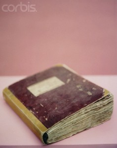 Old book --- Image by © Kate Mitchell/Corbis