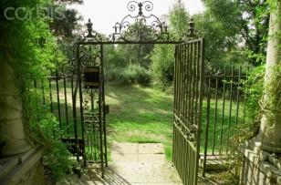 Wrought iron gates, London, United Kingdom