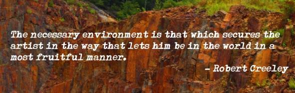 Creeley quote