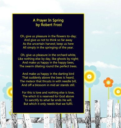Frost poem