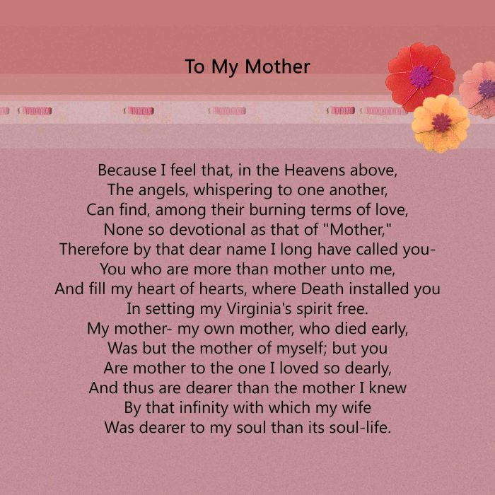 Poe Mother's Day