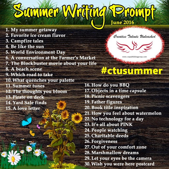 Summer Writing Prompt - June 2016