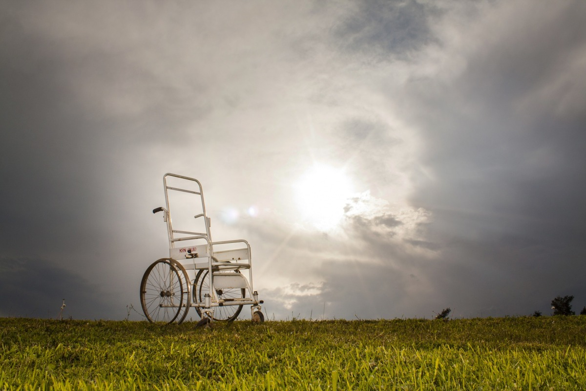 No Wheelchairs in Heaven ~ Author Sue Lobo