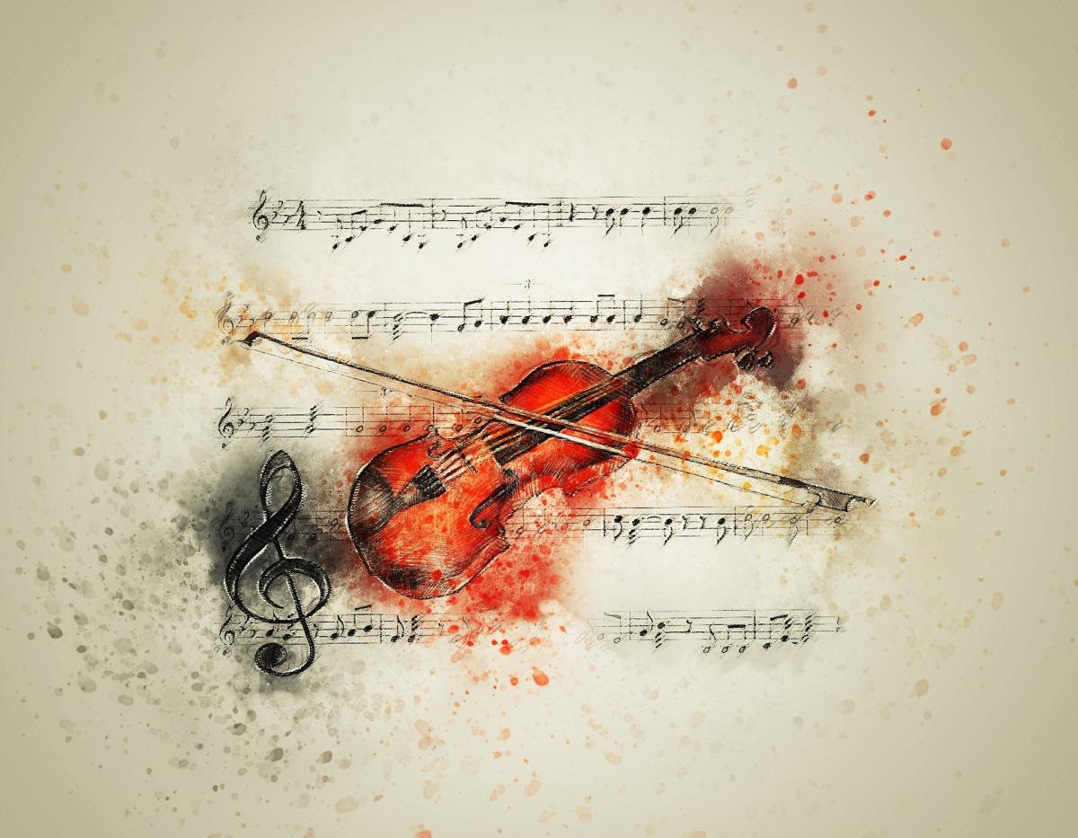 Spectral Violin ~ Author Baidha Fercoq